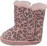 UGG Baby Girls Cassie Leopard Booties Baby Pink Leopard