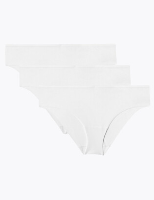 Marks and Spencer 3 Pack No VPL Brazilian Knickers