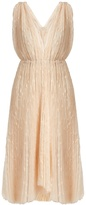 Maria Lucia Hohan Eudora V-neck star-embroidered tulle dress