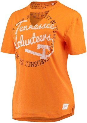 Women's Pressbox Tennessee Orange Tennessee Volunteers Saylor Choker T-Shirt