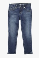 7 For All Mankind Girls 4-6x The Skinny In Nouveau New York Dark