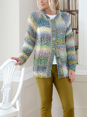 King Cole Explorer Cardigan, Hat and Scarf Knitting Pattern, 5456
