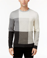 Alfani Men's Colorblocked Sweater, Only at Macy's