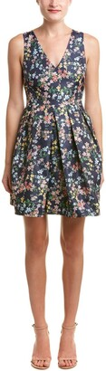 Erin Fetherston Erin Women's Floral Fit and Flare Devon Dress