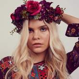 N. ROCK 'N ROSE Agnes Oversized Floral Berry Crown Headband