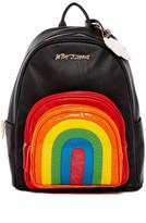 Betsey Johnson Rainbow Backpack