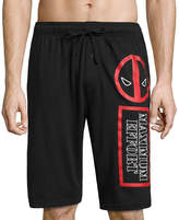 Marvel Deadpool Pajama Shorts - Men's