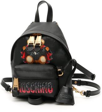 Moschino bat teddy bear mini backpack