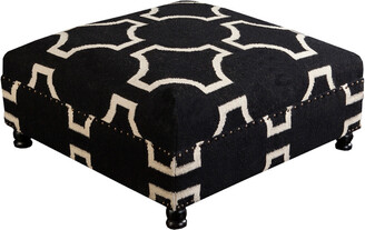 Surya Lattice Ottoman
