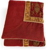 Horchow Austin Horn Classics Queen Scarlet Comforter
