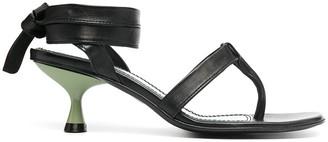 Nicole Saldaña Bobby thong sandals