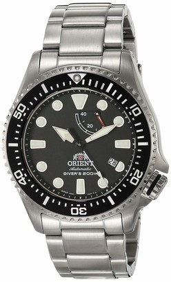 Orient Men's Neptune Japanese Automatic Diving Watch with Stainless Steel Strap Silver 22 (Model: RA-EL0001B)