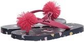 Joules Kids Flip-Flop (Toddler/Little Kid/Big Kid) (Navy Horses) Girls Shoes
