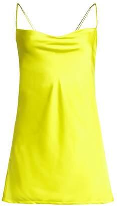 For Love & Lemons Neon A-Line Mini Dress