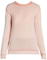 Marni Contrast Stitch Cashmere Knit Crewneck