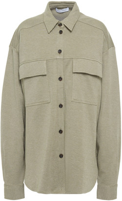 Ninety Percent Cotton-blend Twill Shirt