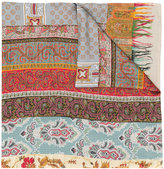 Pierre Louis Mascia Pierre-Louis Mascia multi-print embroidered scarf