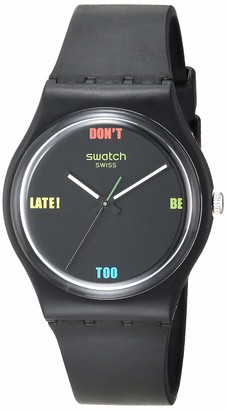 Swatch Essentials Quartz Plastic Strap
