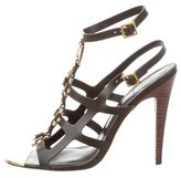 Tory Burch Leather Ankle Strap Sandals