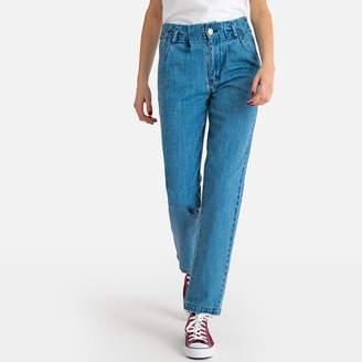 La Redoute Castaluna Womens High Waist Mom Jeans Length 27.5