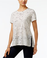 Style&Co. Style & Co. Printed Swing Top, Only at Macy's