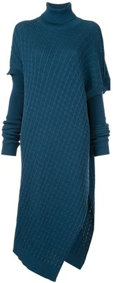 G.V.G.V. asymmetric knit dress