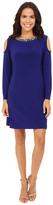 rsvp Amber Cold Shoulder Jewel Neck Dress