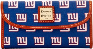 Dooney & Bourke NFL NY Giants Continental Clutch