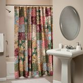 Antique Chic Fabric Shower Curtain
