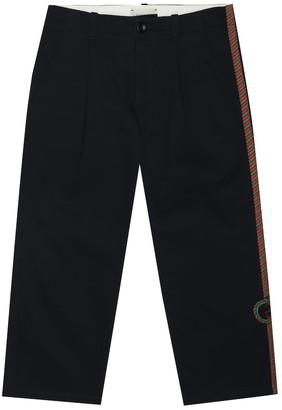 Gucci Kids Cotton-blend pants