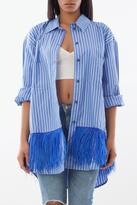 Soho De Luxe Long Fringe Shirt