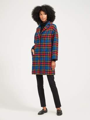 Fien Coat in Plaid