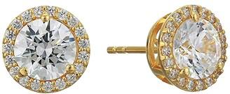 Michael Kors Large Halo Stud Earrings (Gold Tone) Earring