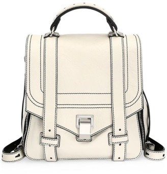 Proenza Schouler PS1+ Zip Leather Backpack