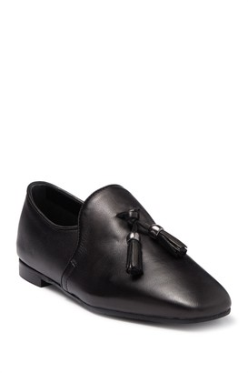 Aquatalia Rivita Leather Tassel Loafer
