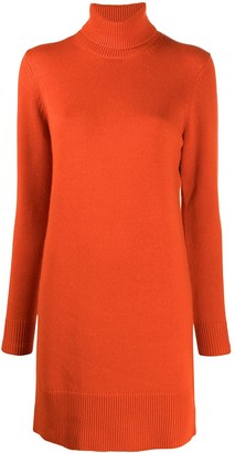 MICHAEL Michael Kors Cashmere Rollneck Knitted Dress