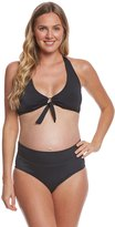Prego Swimwear Materinty Solid Two Piece Set 8113766