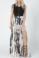 Stillwater Slate Tie Dye Skirt