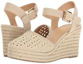 Skechers Turtledove (Natural) Women's Wedge Shoes