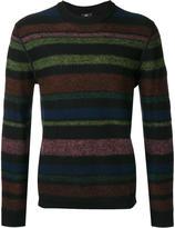 Paul Smith striped jumper - men - Merino/Alpaca - S