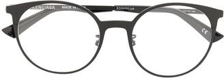 Balenciaga Round-Frame Optical Glasses