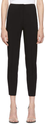 Alexander Wang Black Wool Wash and Go Trousers
