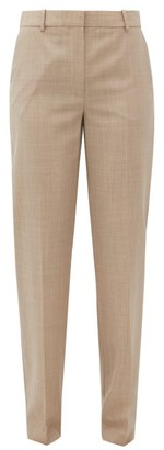 Roksanda Livio Straight-leg Wool Trousers - Beige