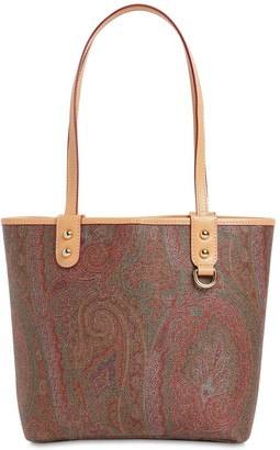 Etro Paisley Coated Canvas Mini Tote