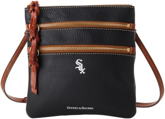 Dooney & Bourke MLB White Sox N S Triple Zip Crossbody
