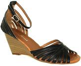 Fashion Focus Black Amanda Sandal