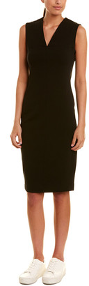 James Perse Fitted Sheath Dress
