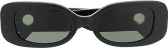 Linda Farrow Lola square-frame sunglasses