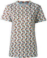 Au Jour Le Jour bird print T-shirt