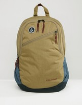 Volcom Substrate Backpack in Dessert Tan
